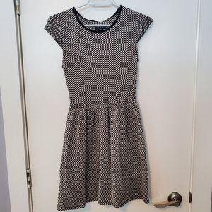 Top shop polka dot dress